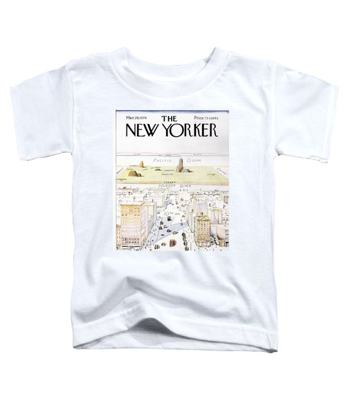 View From 9th Avenue Toddler T-Shirt