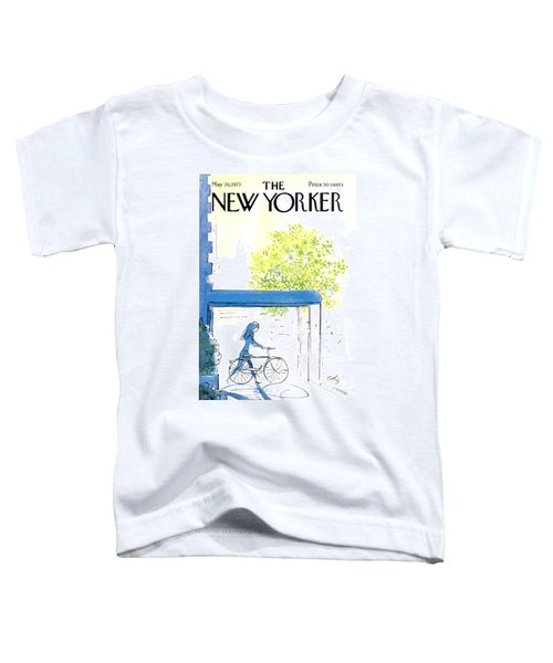 The New Yorker Cover - May 26th, 1973 Toddler T-Shirt