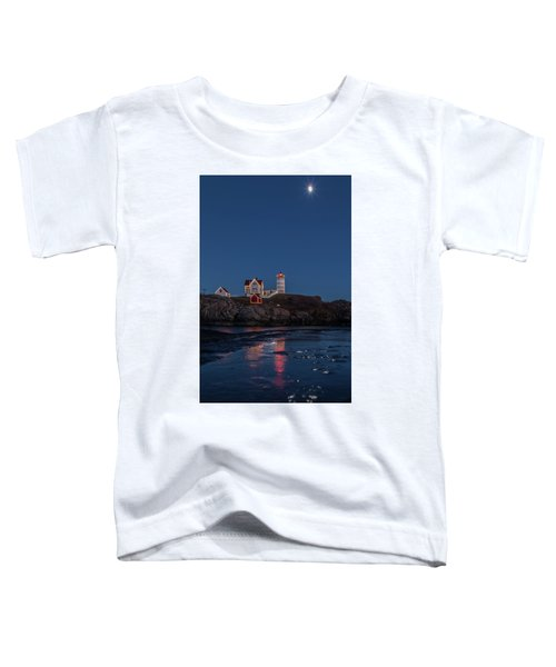 The Nubble Waiting For Snow Toddler T-Shirt