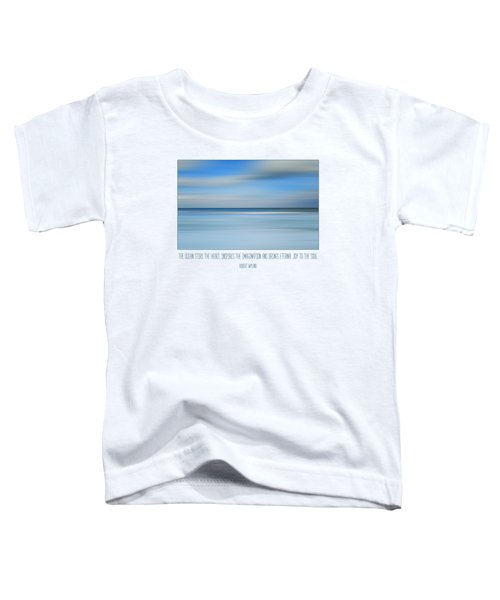 The Ocean By Robert Wyland Toddler T-Shirt