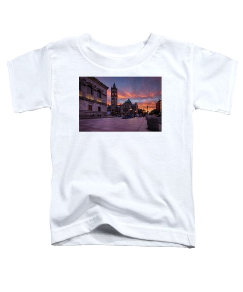 The Old South Church At Sunset Toddler T-Shirt