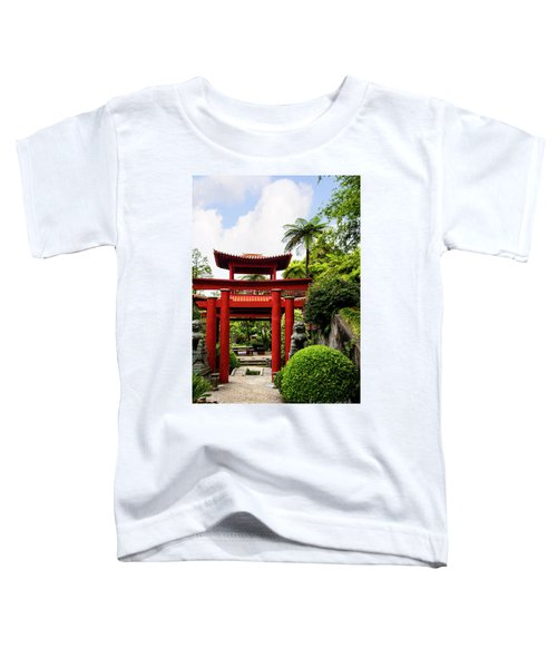 The Oriental Gate To Happiness Toddler T-Shirt