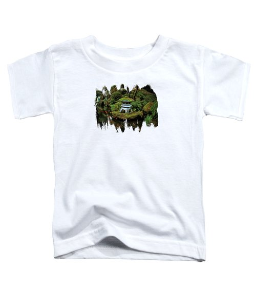 Pagoda And Koi Toddler T-Shirt