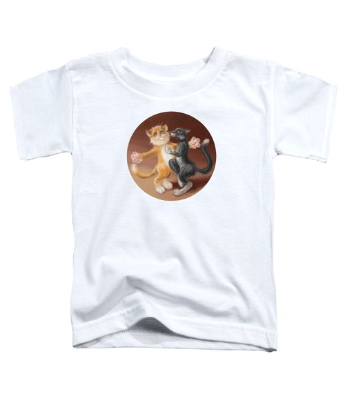 The Painting About Love  Toddler T-Shirt