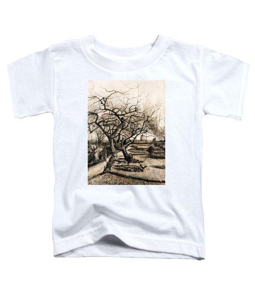 The Parsonage Garden At Nuenen In Winter Toddler T-Shirt