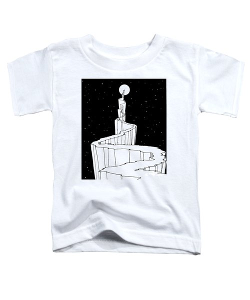 The Path To The Moon Toddler T-Shirt