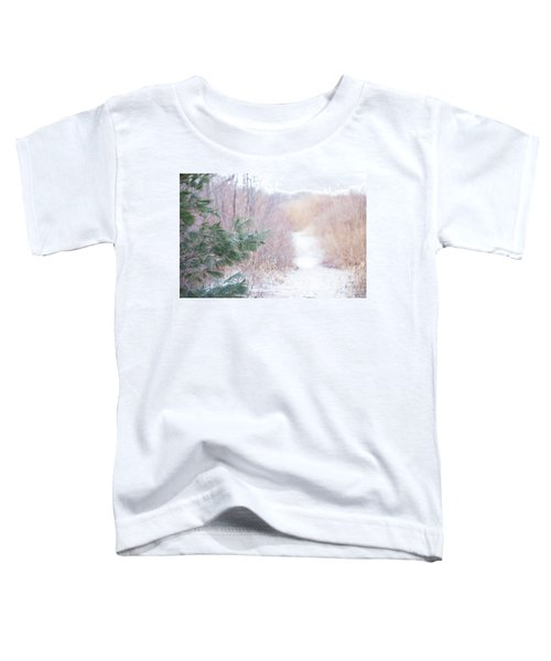 The Path Untraveled  Toddler T-Shirt