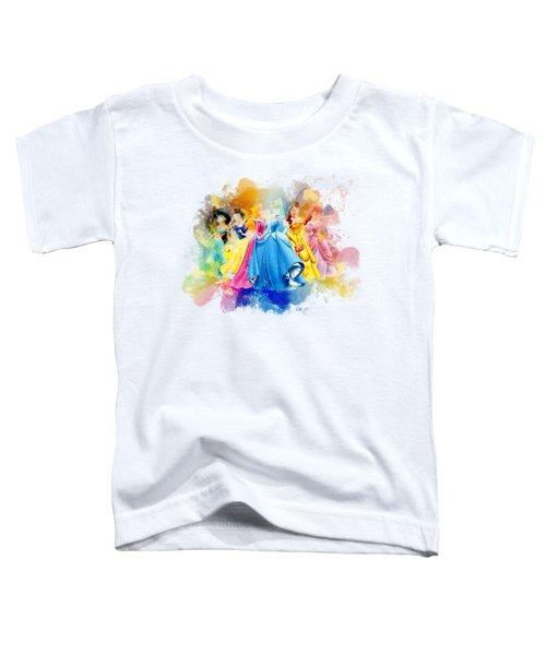 The Princess Toddler T-Shirt by Rinaldo Ananta