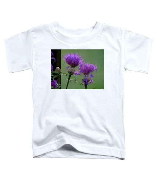 The Purple Bloom Toddler T-Shirt