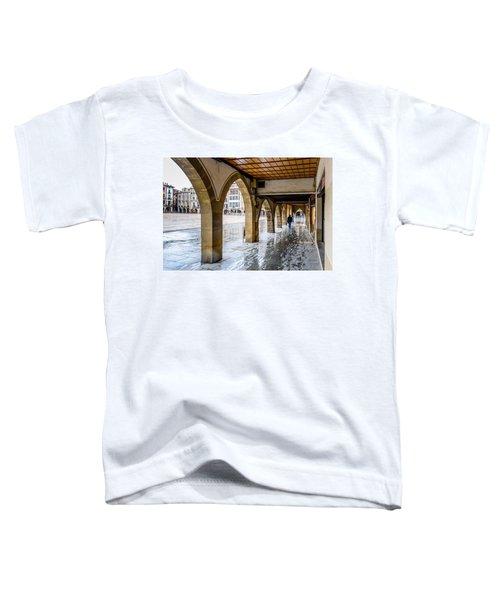 The Rain In Spain Toddler T-Shirt by Randy Scherkenbach