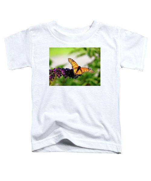 The Resting Monarch Toddler T-Shirt