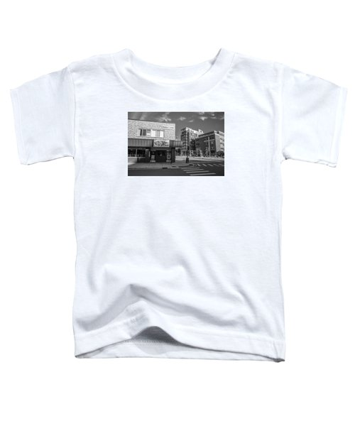 The Riv Ion Black And White Toddler T-Shirt