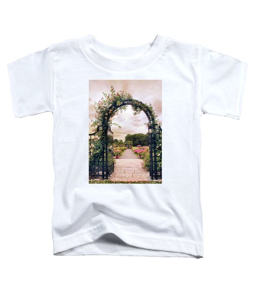 The Rose Allee Toddler T-Shirt