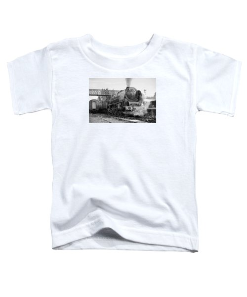 The Royal Scot In Black And White Toddler T-Shirt