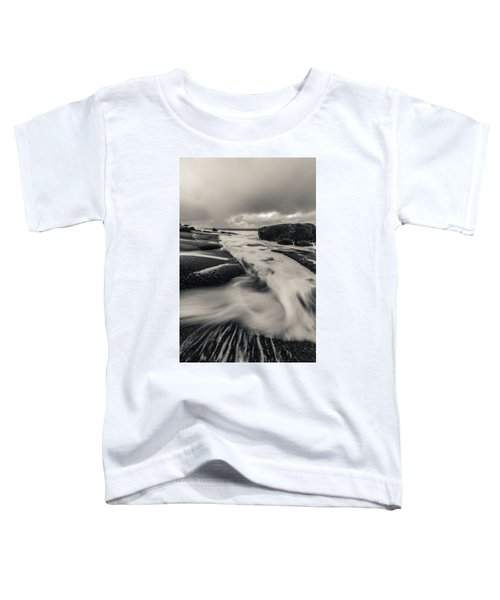 The Rush Of The North Sea Toddler T-Shirt