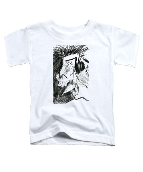 The Scream - Picasso Study Toddler T-Shirt