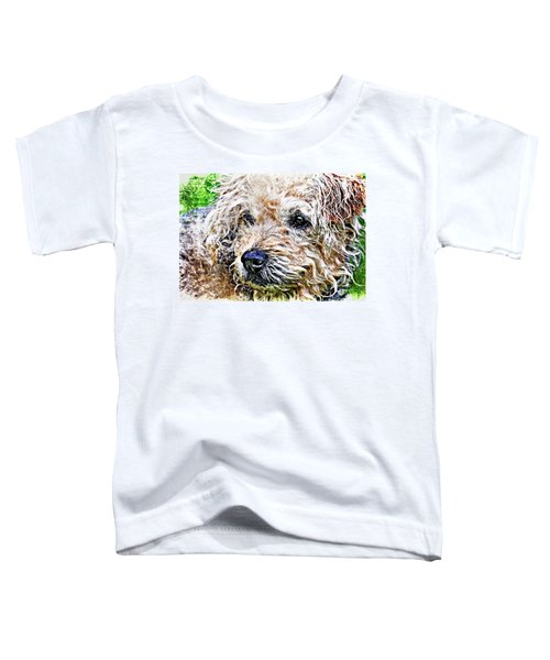 The Scruffiest Dog In The World Toddler T-Shirt