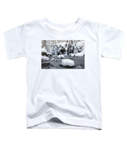 The Secret Waterfall In Winter 1 Toddler T-Shirt