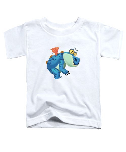 The Sloth Dragon Monster Toddler T-Shirt
