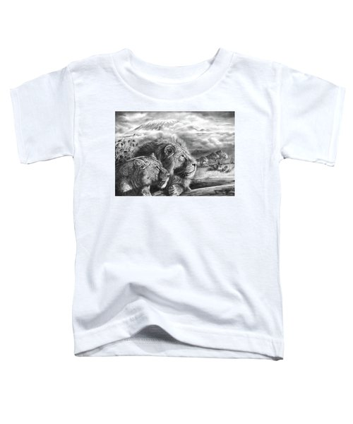The Snows Of Kilimanjaro Toddler T-Shirt