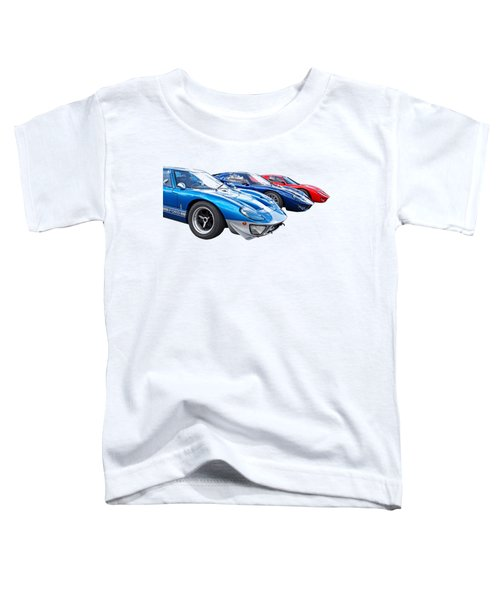 The Three Amigos - Ford Gt 40 Toddler T-Shirt