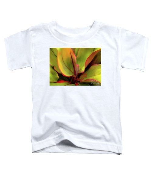 The Ti Leaf Plant In Hawaii Toddler T-Shirt