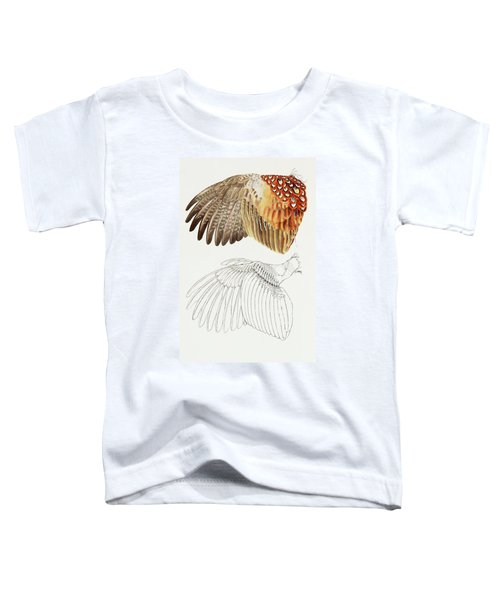 The Upper Side Of The Pheasant Wing Toddler T-Shirt
