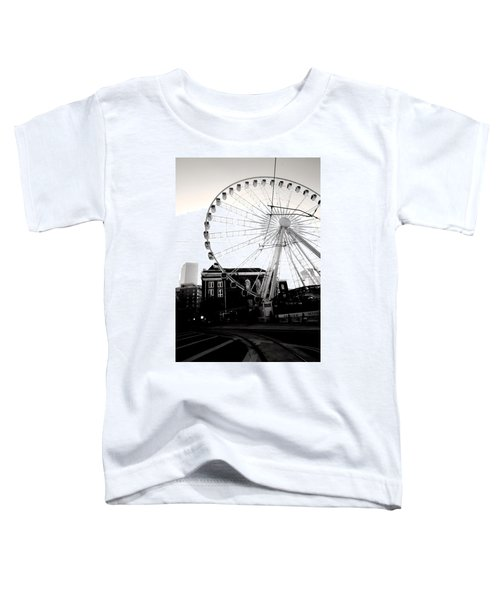 The Wheel Black And White Toddler T-Shirt