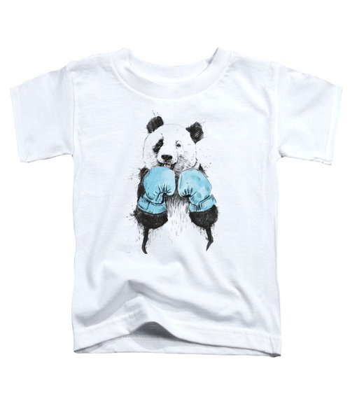 The Winner Toddler T-Shirt by Balazs Solti