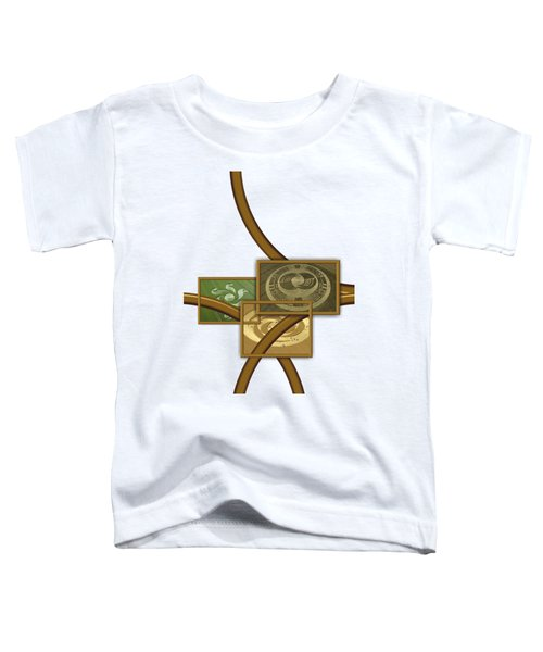 The World Of Crop Circles By Pierre Blanchard Toddler T-Shirt by Pierre Blanchard