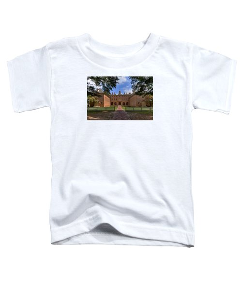 The Wren Building At William And Mary Toddler T-Shirt