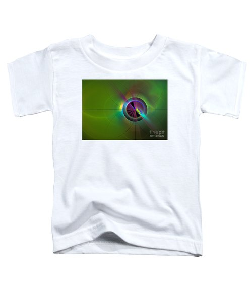 Theory Of Green - Abstract Art Toddler T-Shirt