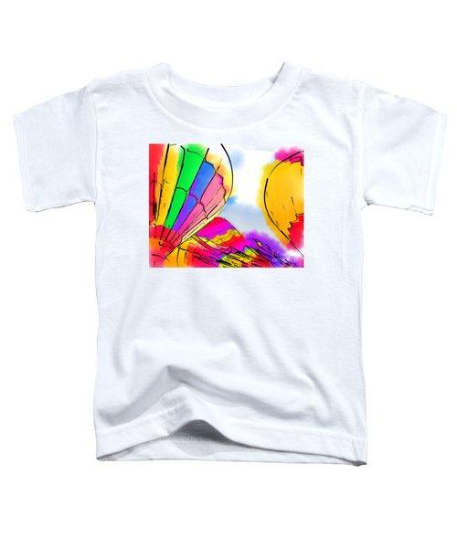Three Balloons Toddler T-Shirt