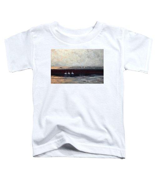 Three Boats Toddler T-Shirt