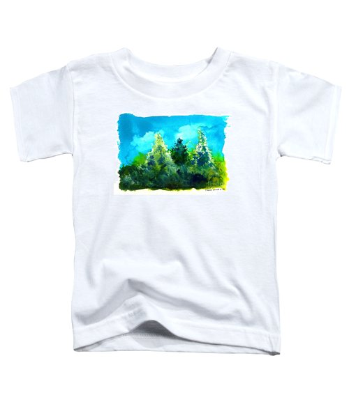 Three Evergreens Toddler T-Shirt