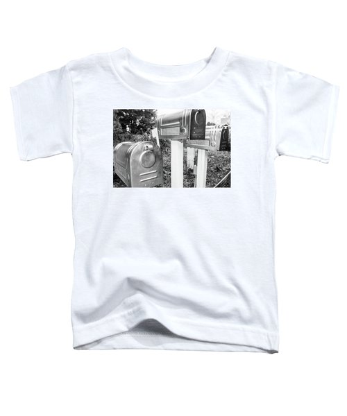 Three Mailboxes Toddler T-Shirt