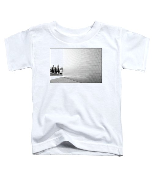 Three Trees And A Wall Toddler T-Shirt
