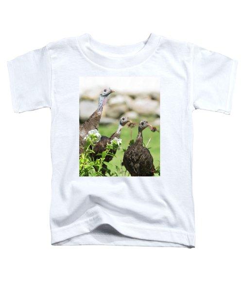 Threes A Crowd Toddler T-Shirt