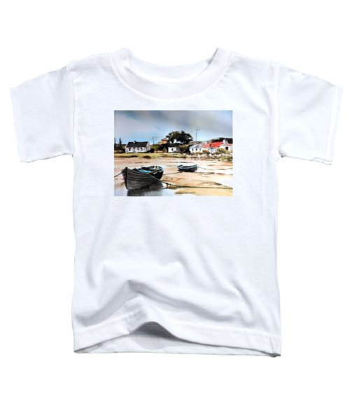 Tide Out In Erlak Roundstone Galway Toddler T-Shirt