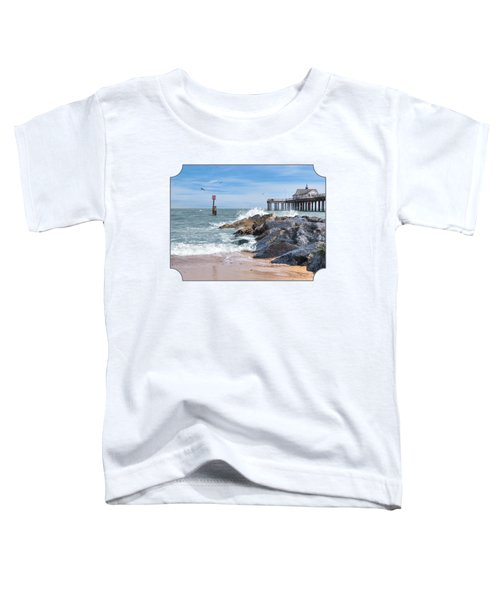 Tide's Turning - Southwold Pier Toddler T-Shirt