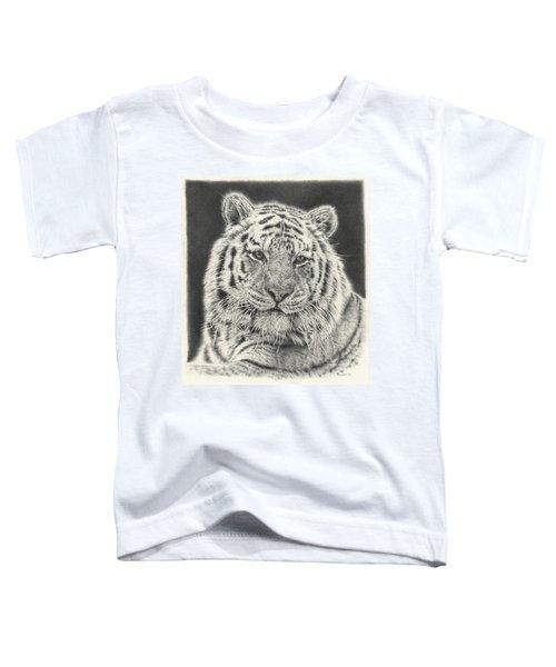 Tiger Drawing Toddler T-Shirt