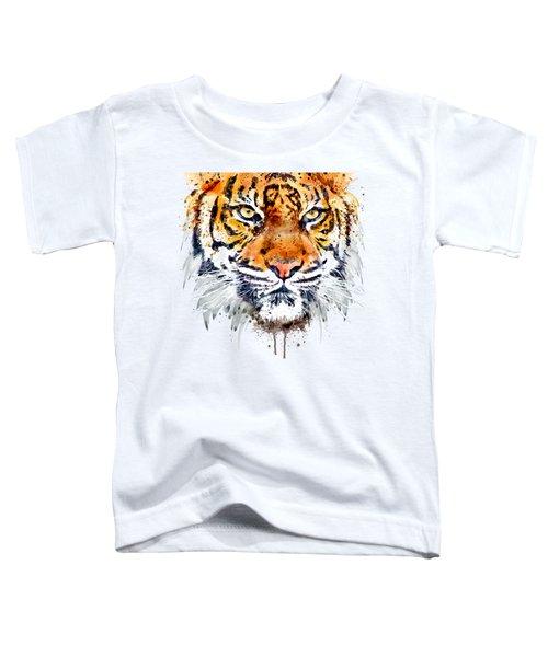 Tiger Face Close-up Toddler T-Shirt