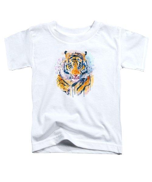Tiger Face Toddler T-Shirt