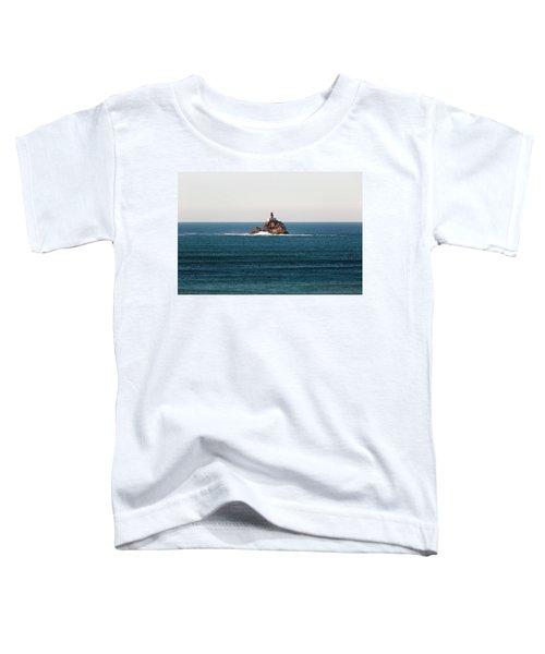 Tillamook Rock Lighthouse On A Calm Day Toddler T-Shirt