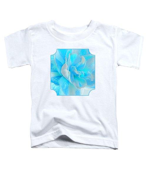 Timeless Beauty In Blue Toddler T-Shirt