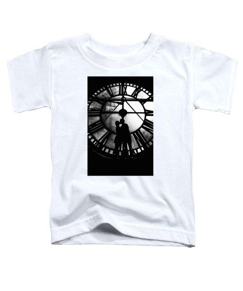 Timeless Love - Black And White Toddler T-Shirt