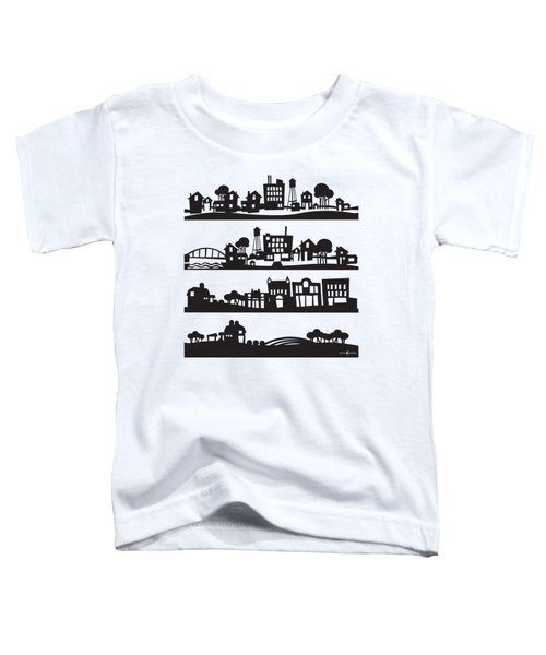 Tinytown Stacked Toddler T-Shirt
