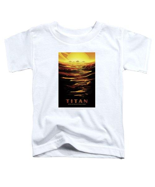 Titan - Ride The Tides Through The Throat Of Kraken - Vintage Na Toddler T-Shirt