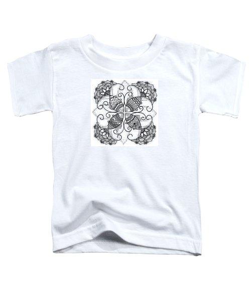 Together We Flourish - Ink Toddler T-Shirt