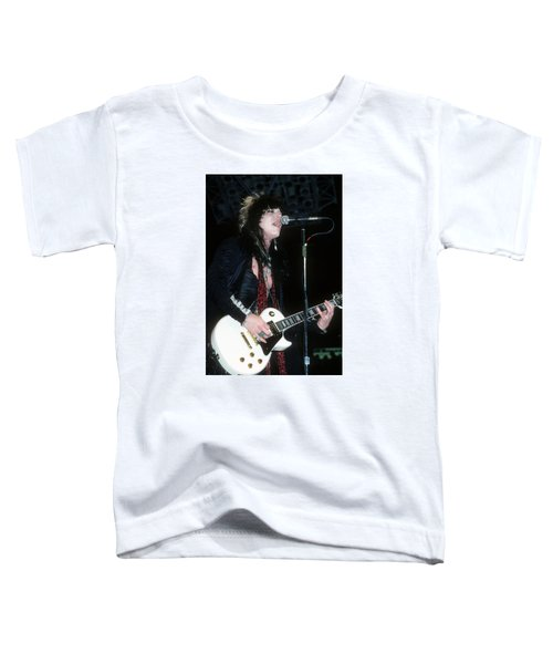Tom Keifer Of Cinderella Toddler T-Shirt
